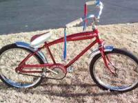Vintage EX-20 Deluxe kids bike,ready to ride,some