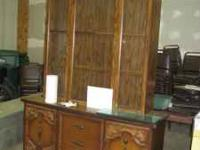 Listing a vintage china cabinet for sale for $75.00