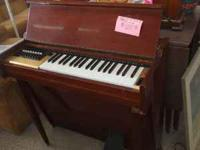 This Vintage Organ is in GREAT shape and works