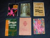 6 classic Christian chorus books for sale:.  1. Junior