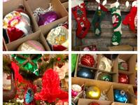 Vintage Christmas Ornaments Every color available! $3