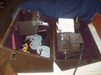 Cool, Vintage Cine-Kodak 8mm Editing Kit. The case