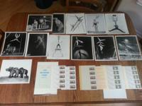 Lot of vintage circus photos in excellent condition..