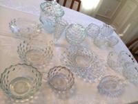 Selling a Clear Glassware collection all yours for