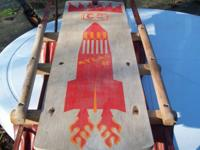 I have a vintage Coast to Coast sled for sale for