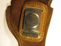 Vintage - Cobra Gunskin Holster $25. (Left Handed