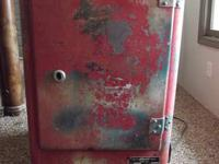 Coca-Cola 1950's Glasco GBV-50 cooler, BODY IS IN GREAT
