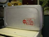 Vintage Coca Cola Cooler Aluminum Coke Aluminum vintage
