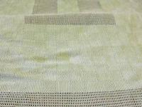 The pictured polished cotton tablecloth is circa