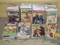 We have a large selection of vintage comic books.