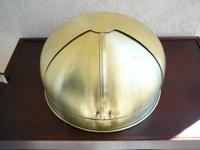 This large antique solid brass Compass Hood is