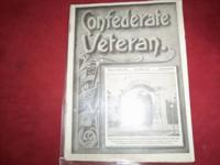 Vintage confederate veteran magazine from 1913 good