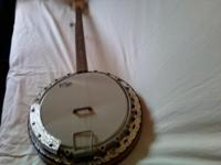 "I have a vintage banjo for sale. ""Contessa"" by Remo."