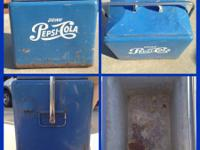 Pepsi-Cola cooler: $100 (This cooler does suffer from