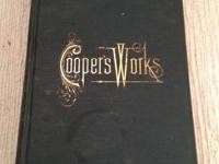 $10.00 per book Collier Coopers Works Books Contact