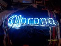 Vintage Corona Neon Light 2004 Corona Neon Light