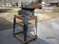 Vintage Craftsman 1950s cast iron Table Saw. Belt drive