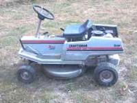 25 inch cut with 5hp briggs craftsman rider good shape