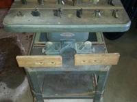Very nice condition 1950's Craftsman shaper by
