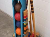 Classic Croquet Set $55. All complete and original.