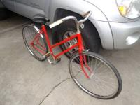 Hello im sell my wifes bicycle it's older but in great