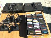 Vintage Darth Vader Model Atari's and 50 games with all