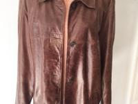 Leather Jacket Ladies vintage Eddie Bauer Outdoor