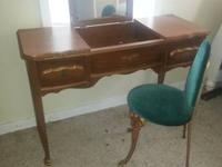 This is a vintage desk that was my grandmothers. It has