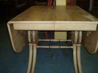 "Vintage Dining Table - measures 42"" wide x 64"" long"