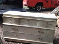 Vintage dixie dresser very nice. Solid wood with