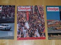 "A collection of ""Dodge News"" publications from 1968 to"