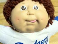 I have a vintage Dodger Cabbage patch doll. He is a