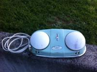 Super cool Dr. Scholl's electric foot massager in retro