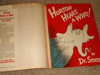 For sale: Vintage Dr Seuss youngsters's book titled