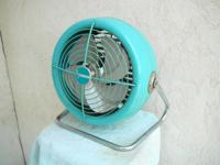 This small retro 12 inch circulating Dominion Fan is