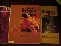 Vintage Dungeon's and Dragons - 3 Best of Dragon