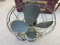 Up For Sale.  Classic Emerson Electric commercial metal