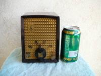 This compact cube size AM radio, 115 volt (30 watt)