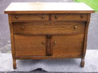 Type: Dining Room Type: Empire Buffet Tiger Oak or