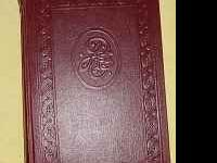 Full set of leather bound encyclopedias dated around