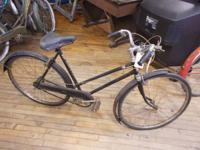 Vintage English Norman bicycle.  $95.  #