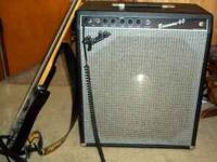 I have a vintage fender bassman 60 amp and a Ibanez