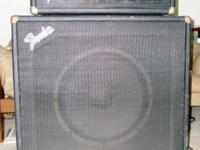 Vintage Fender Bassman 70 Tube Amp and Coordinating