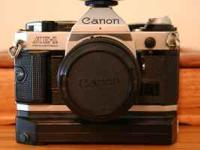 CANON AE-1 PROGRAM SLR FILM CAMERA IN EXCELLENT