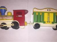 Fisher Price PULL CIRCUS TRAIN - $15 cash pre-owned,