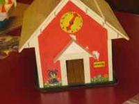 Vintage Fisher Price School House(1976-77) $30.00 4