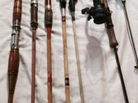 Rods- Shakesphere, Eagle Claw, True Temper, Bud Erhardt