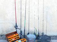 Fishing Rods & Reels LOT 7 plus more! Fishermen: I