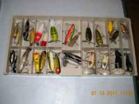 MANY (97) Vintage Fishing Lures--$3.00 Each-CASH--First