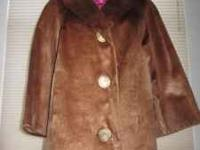 I have a real one of a kind vintage fur coat for sale.
